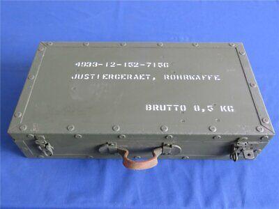 Bundeswehr Holz Box Kiste Lagerkiste 48 x 25 x 10,5 Holzkiste Aktenkoffer Form