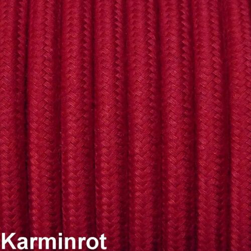 Verlängerung Dreifachverteiler Premium Textilkabel mit Bakelit-Stecker