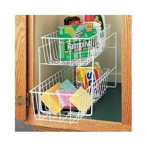 Esylife Expandable Kitchen Cabinet Rack