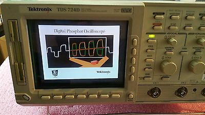Men's Accessories Clever Tektronix Tds724d 2 Channel Digital Phosphor Oscilloscope 500mhz 2gs/s W/options