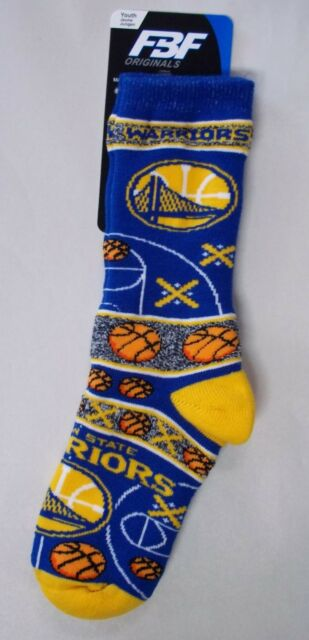 512fab4365bd Golden State Warriors Socks Youth Size 1 to 5 Super Fan for sale ...