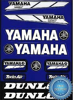 4MX Sticker Decal Yamaha Logo Twin Air Dunlop fits YFM 350 Big Bear 4x4 98-00