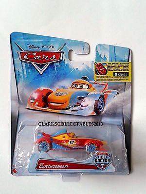DISNEY PIXAR CARS ICE RACERS - RIP CLUTCHGONESKI - MATTEL 1:55 SCALE