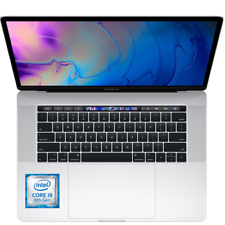 Latest MacBook Pro 15 (Intel 6 Core 8th Gen i9, 16GB DDR4, 2TB SSD, Radeon 555X)