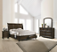 thumbnail 2 - NEW Queen or King 4PC Brown SleighTraditional Bedroom Set Bed/D/M/N