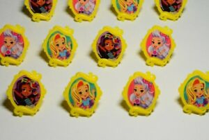 12 Sunny Day Inspired Show Cupcake Rings Topper Birthday ...