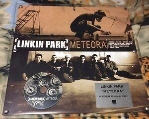 Details About Linkin Park Meteora Platinum Album In Italy 45x45 The Plexiglass Wea Italy