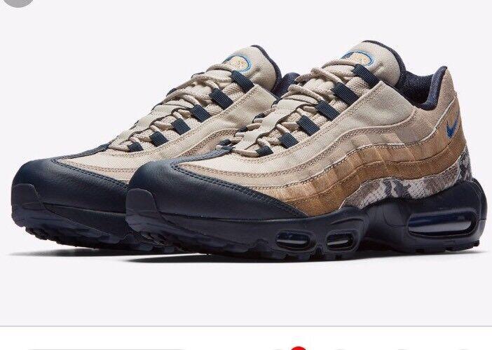 NWT Nike Mens AIR MAX 95 SOF Running shoes  - LA Rams - AT6152-001 - SZ-9.5