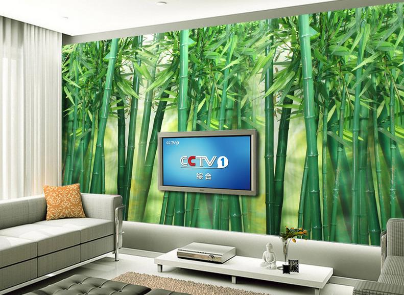 3D Grüner Bambuswald 58 Tapete Tapeten Mauer Foto Familie Tapete Wandgemälde DE