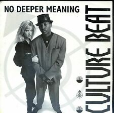 7inch CULTURE BEAT no deeper meaning HOLLAND 1991 NEAR MINT