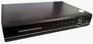 DVR-8-canali-HDMI-REGISTRATORE-H-264-VIDEOSORVEGLIANZA-LAN-USB-VGA