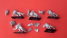 Warhammer 5 Caos Mastines FLESHOUNDS de Khorne Metal