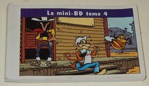 LUCKY-LUKE-en-Mini-BD-tome-4-LUCKY-Comics-2002-pour-KELLOGG-039-S-MORRIS