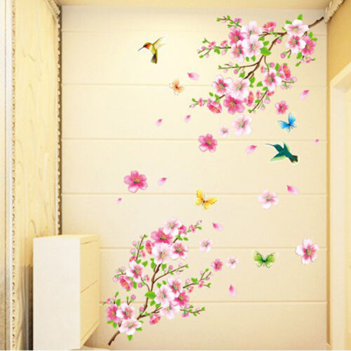 Wall Decor Removable Art Flower Home Mural Decal Vinyl Diy Stickers Sticker Room