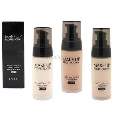 Whitening Moisturizing Concealer Liquid Foundation Makeup Cosmetic 3 Colors 40ml