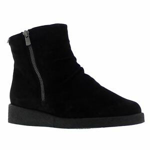 Mephisto-Cassandra-Black-Womens-Suede-Zipper-Soft-Air-Ankle-Boots