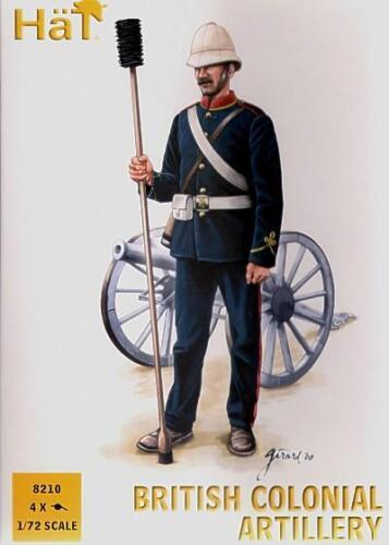 British Colonial Artillery 1:72 Hat 8210