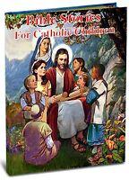 Bible Stories For Catholic Children Hardcover Book Faith Christian Communion