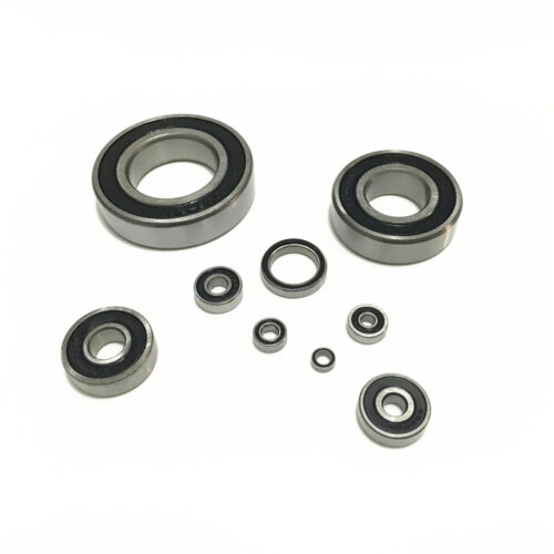 6012-2RS to 6016-2RS RS 2RS Rubber Sealed Thin Section Deep Groove Ball Bearing