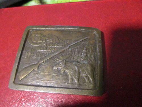 1976 Colt An American Heritage  Belt Buckle Vintag