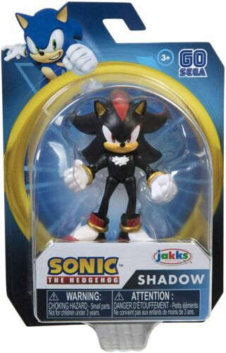 SHADOW from Sonic the Hedgehog 2.5 Inch Action Figure video game style NEW