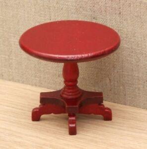 1:12 Dolls House Pedestal wine table
