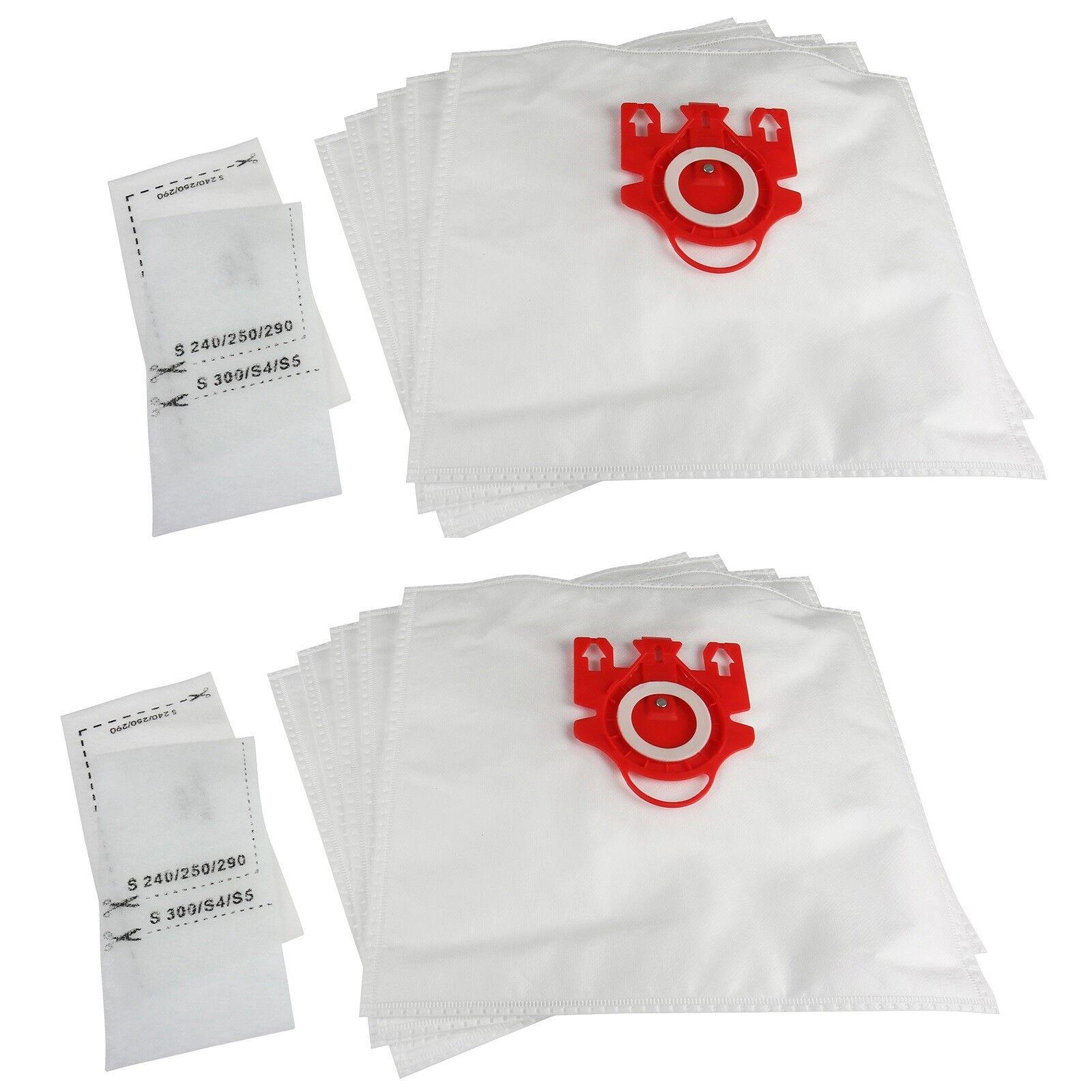 Filters MIELE S4210 /& s4211 FJM Type Hoover VACUUM HEPA DUST 10 BAGS