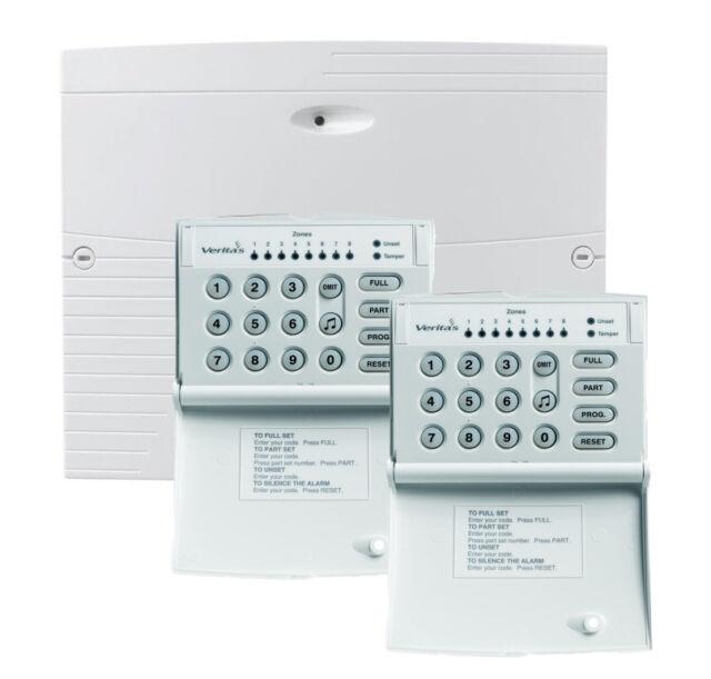 Control Panel Veritas R8 Security Alarm Systems - Sr08198 | eBay