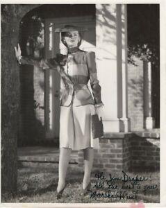 Marsha-Hunt-Signed-Autographed-8X10-Vintage-Photo-Inscribed-JSA-FF06391