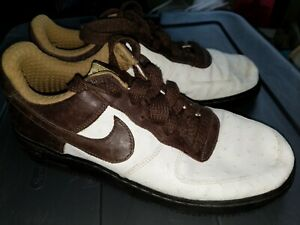 2006 Nike Air Force 1 Af1 Premium Boxing Sz 10.5 Ostrich Brown Leather Rare | eBay