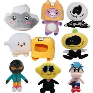 Lankybox Plush Toy Foxy & Boxy & Rocky Plush Doll Removable Robot Kids Toys US