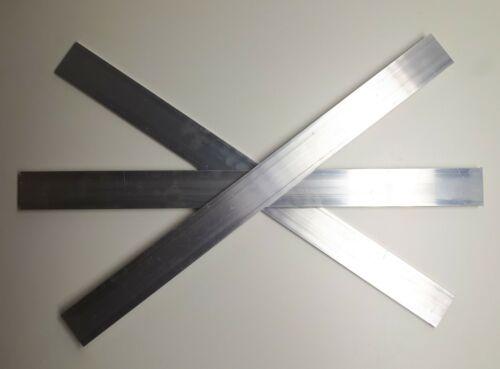 50x6 Aluminium Flat Bar 50mm x 6mm x 600mm long Plate Alloy 6060 T5 Mill Finish