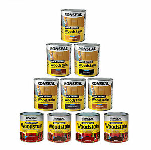 Ronseal-Quick-Drying-Wood-Stain-Long-lasting-Rainproof-Satin-Finish-750ml
