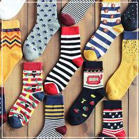 1 Pairs Lot Mens Designer Fashion Dress Socks New Stripe Argyle Color Well Sold