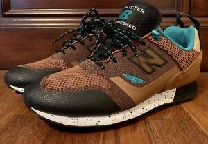 la meilleure attitude a4092 30f36 Details about New Balance Trailbuster Re-engineered Tan/Teal-Black TBTFGSA  Men's size 7