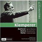 Beethoven: Egmont Overture; Brahms: Symphony No. 1; Mahler: Kindertotenlieder (2007)