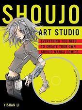 Shoujo Art Studio: Everything You Need to Create Your Own Shoujo Manga-ExLibrary