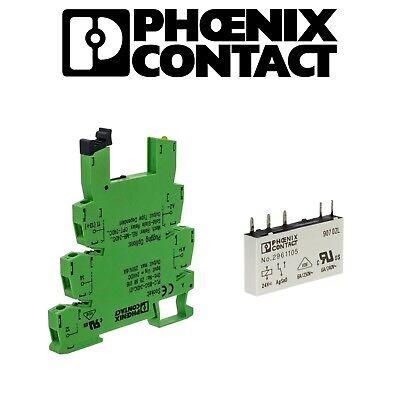 Phoenix CONTACT relè plc-bsc-24dc//21 2961105 NUOVO