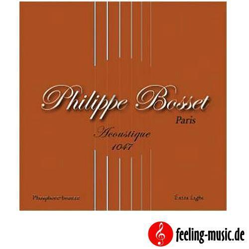 ACP1047 Phosphor Bronze Philippe Bosset Acoustic Satz .010-.047