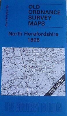 Old Ordnance Survey Maps  North Herefordshire  /& Map Bodenham 1898 Sheet 198 New