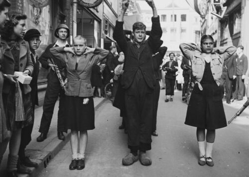 WWII photo Dutch collaborators //24э