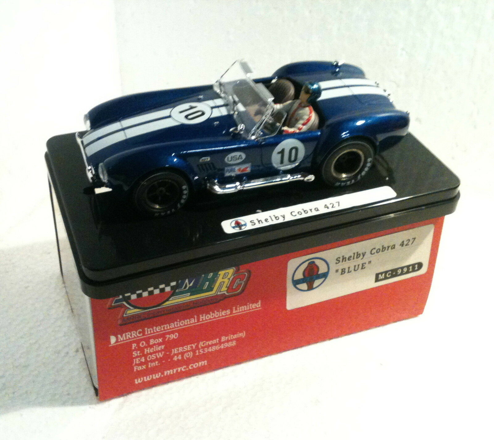 Qq MC9911 MRRC SHELBY COBRA 427   10 Blau