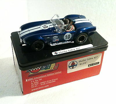 Spielzeug Kinderrennbahnen Enthusiastic Qq Mc9911 Mrrc Shelby Cobra 427 # 10 Blue Cheapest Price From Our Site