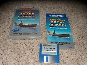 NEW Silent Service by MicroProse for  for Atari 400//800