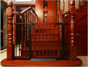 Ordinaire Details About Baby Gate/Baby Gate For Stair With Banisters/Pet Gate, Fit  Stairway Or Doorway