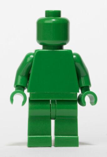 LEGO Green MONOFIG Monochrome Minifigure
