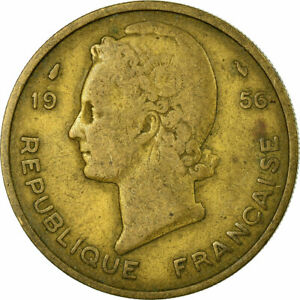 704786-Muenze-French-West-Africa-25-Francs-1956-S-Aluminum-Bronze-KM-7