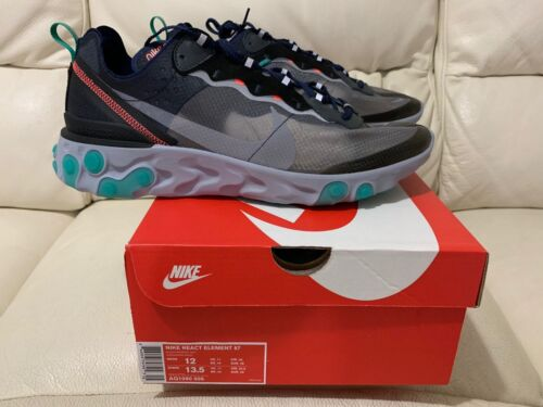 11 12 Green React Tutte Element le taglie 87 Nike 2018 Nuovo 10 6 Neptune aF4f7w