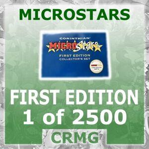 CRMG Corinthian MicroStars FIRST EDITION 1 OF 2,500 GOLD BASE (like SoccerStarz)