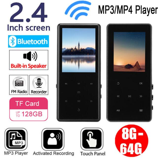 Neu 64GB MP3 MP4 Player Mini Musikspieler Video Touch Dispaly FM Radio E-Book DE